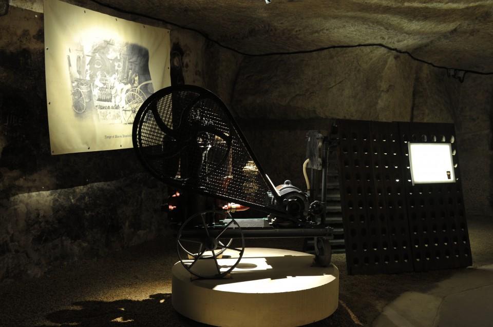 Visite de caves à Saumur