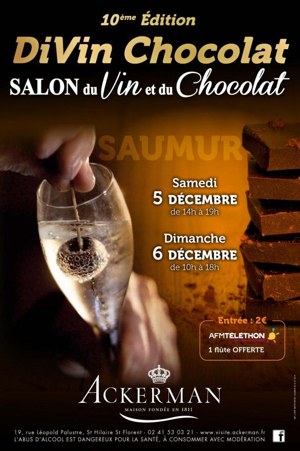 Salon du Vin et du Chocolat de Saumur