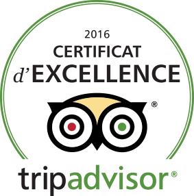 Maison Ackerman, certificat d'excellence 2016